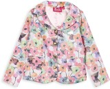 Barbie Full Sleeve Floral Print Girls Fu...