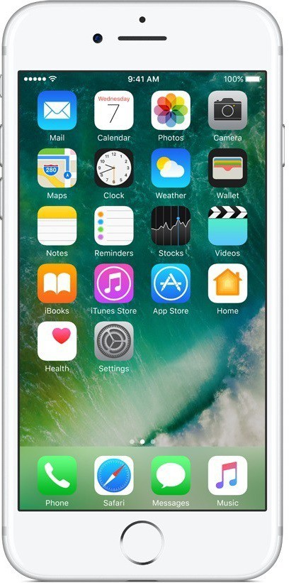 View Apple iPhone 7 (Silver, 32 GB) Mobile Price Online(Apple)