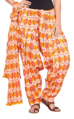 Avanya Cotton Printed Patiala at flipkart