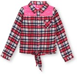 Barbie Girls Checkered Casual Multicolor...