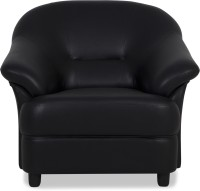 Urban Living Jennifer Solid Wood 1 Seater Standard(Finish Color - Black)