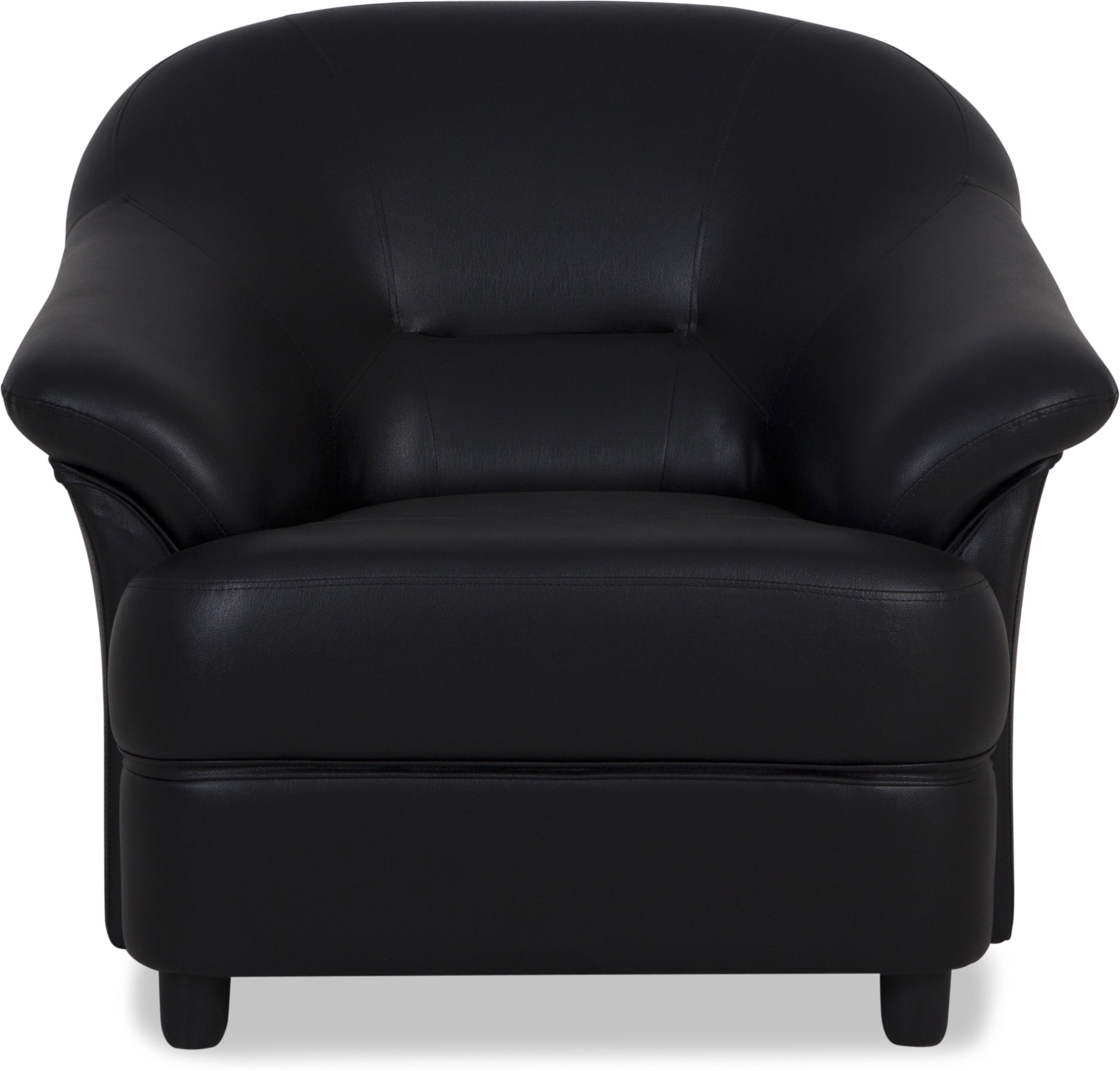 View Urban Living Jennifer Solid Wood 1 Seater Standard(Finish Color - Black) Furniture (Urban Living)