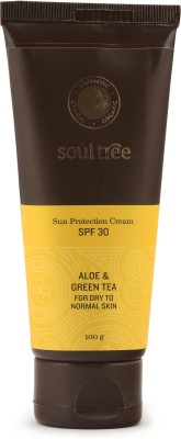 Image result for Soultree Aloe & Green Tea Sun Protection Cream