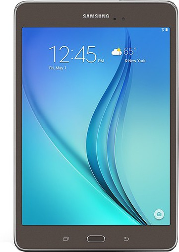 View SAMSUNG Galaxy Tab A T355Y 16 GB 8 inch with Wi-Fi+4G(Smoky Titanium) Tablet Note Price Online(Samsung)