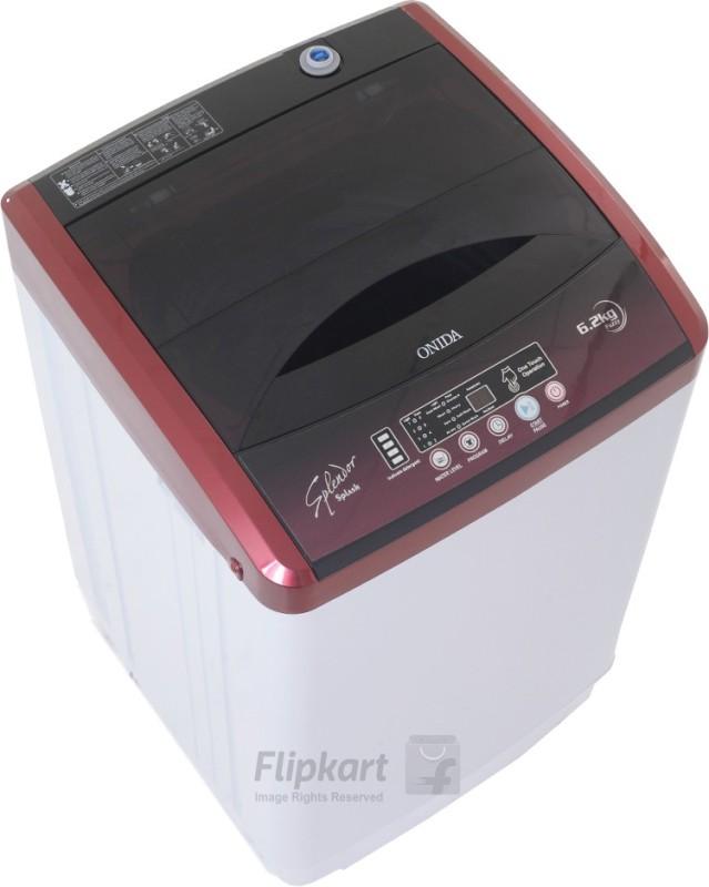 Onida 6.2 kg Fully Automatic Top Load Washing Machine(WO62TSPLDD1-ALR Splendor...