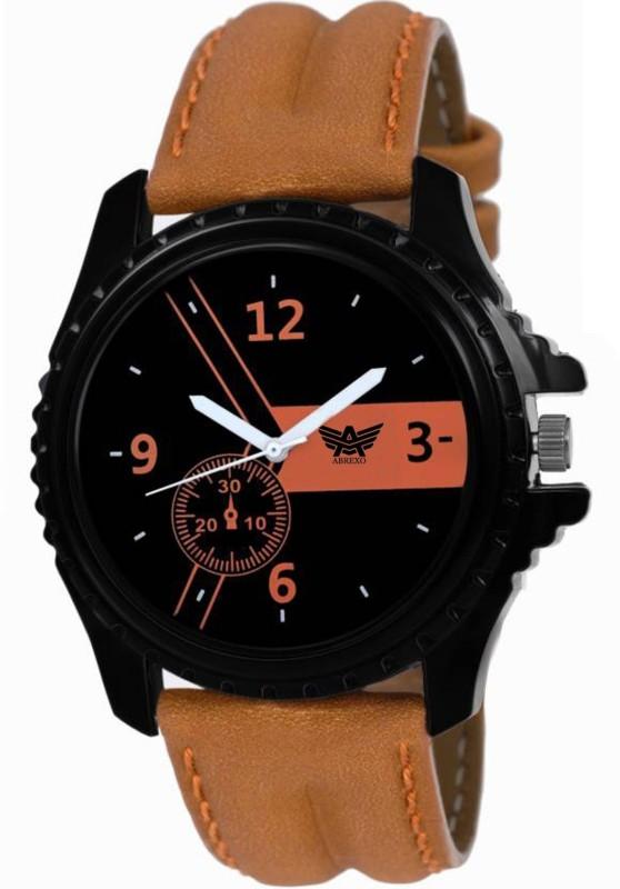 Abrexo Abx 5883 CK BK Modish Series Analog Digital Watch For M