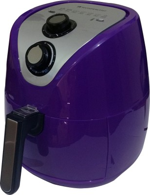 Wonderchef Prato Premium Air Fryer (2.5L), With Detachable Basket And Handle, 1500 Watt (Purple) Air Fryer(2.5 L)