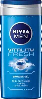Nivea Vitality Fresh Shower Gel(250 ml, Pack of 1)