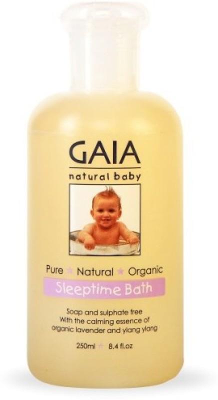 GAIA SKIN NATURALS GAIA Natural Baby Sleep Time Bath Wash(250...