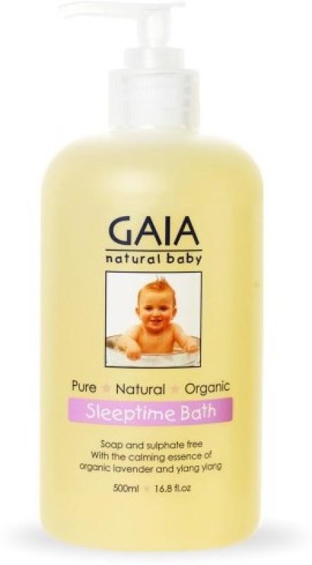 GAIA SKIN NATURALS GAIA Natural Baby Sleep Time Bath Wash(500...