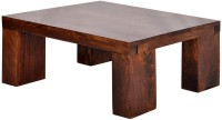 The Attic Solid Wood Coffee Table(Finish Color - Walnut)