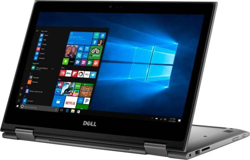 Dell Inspiron 5000 Core i3 7th Gen - (4 GB/1 TB HDD/Windows 10 Home) 5378 2 in 1 Laptop(13.3 inch, Grey, 1.62 kg)   Laptop  (Dell)