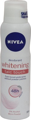 Nivea Whitening TalcTouch Deodorant Spray - For Women, Girls(150 ml)