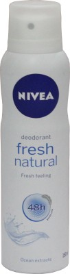 Nivea FreshNaturals Deodorant Spray - For Women, Girls(150 ml)