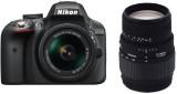 Nikon D3300 DSLR Camera With Sigma 70 - ...