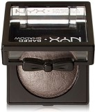NYX Cosmetics Baked Eye Shadow, Silver H...