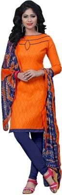 Shoponbit Jacquard Solid Salwar Suit Dupatta Material(Un-stitched) at flipkart