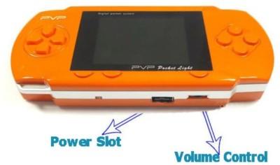 Blue Lotus PVP Station Light 3000 Game Orange .01 GB with All Digital Games(Orange)