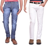 British Terminal Jeans (Men's) - British Terminal Slim Men's Multicolor Jeans(Pack of 2)