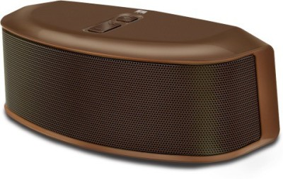 Iball Sound Star BT9 With FM Radio Portable Bluetooth Mobile/Tablet Speaker(Brown, 2.1 Channel)