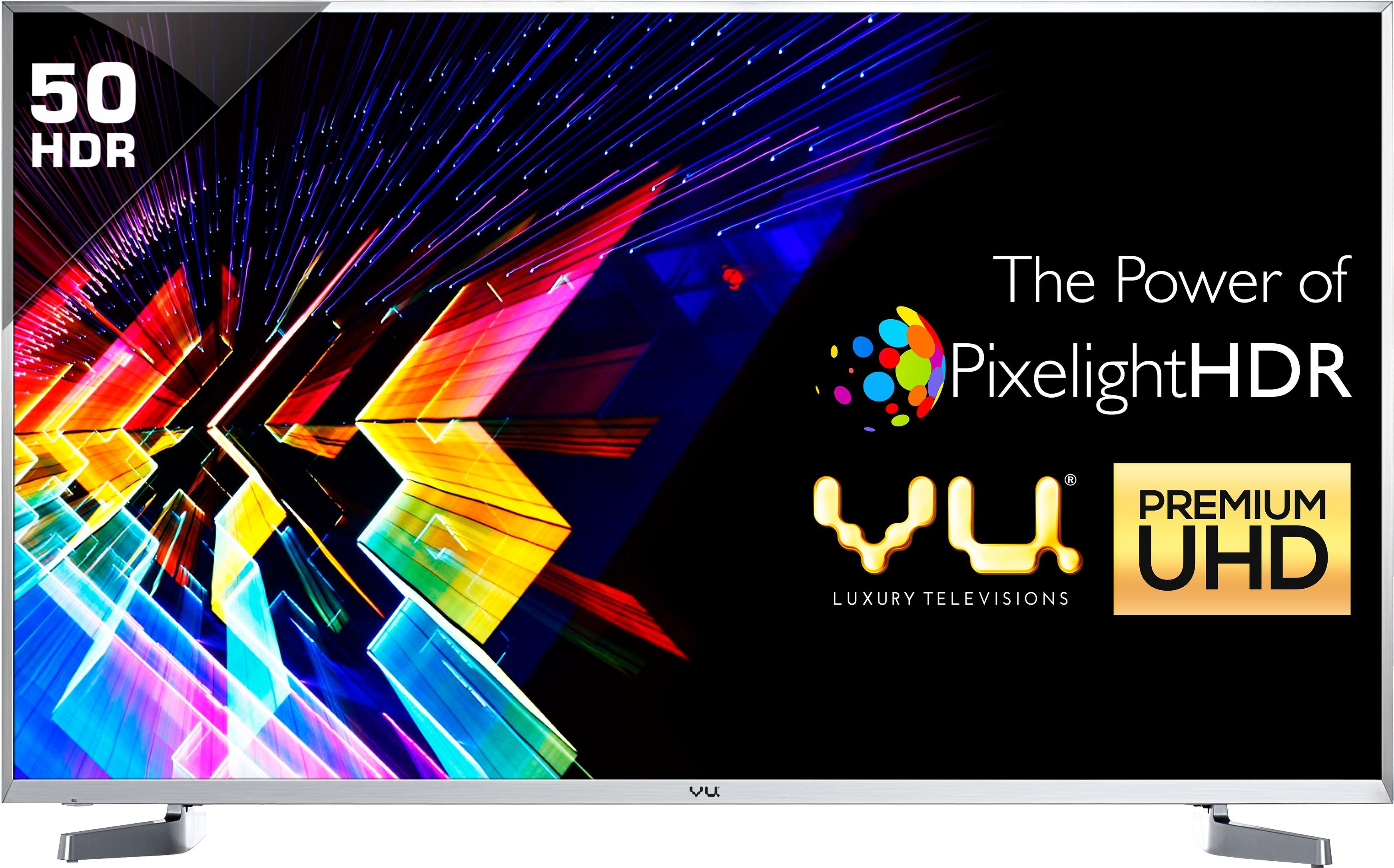 View Vu 127cm (50) Ultra HD (4K) Smart LED TV(LEDN50K310X3D Ver: 2017, 4 x HDMI, 3 x USB) Price Online(Vu)