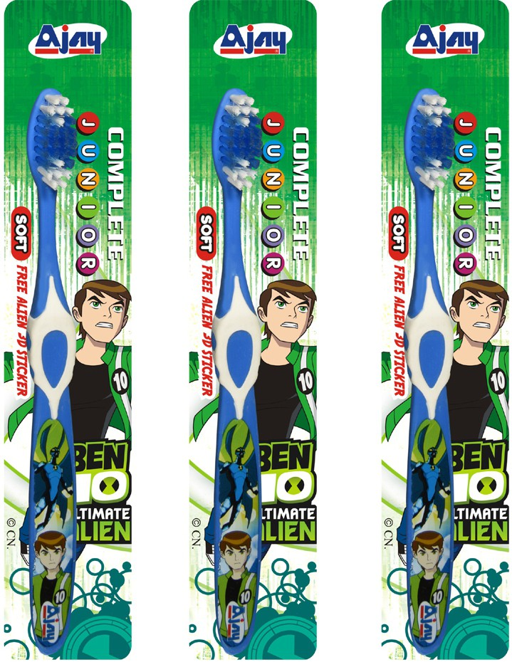Ajay COMPLETE JUNIOR Pack Of 3(Multicolor)