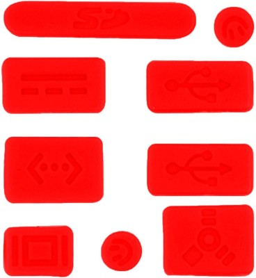 PASHAY USB Red Anti-dust Plug(Laptop Pack of 9)
