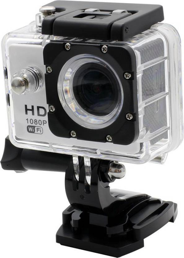 View Mezire HD Action Adventure camera-03 130 degree Wide angle lens Sports & Action Camera(Black) Camera Price Online(Mezire)