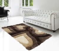 Superb Furnishings Multicolor Polyester Viscose Blend Carpet(91 cm  X 150 cm)