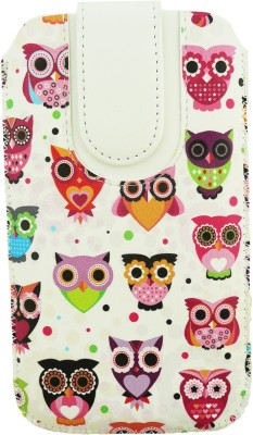 Emartbuy Pouch for Meizu Pro 6(Multi Coloured Owls)