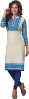 Salwar Studio Women's Clothing - Salwar Studio Cotton Floral Print, Printed Kurti Fabric(Un-stitched)