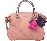 ILU Hand-held Bag (Pink, Silver)
