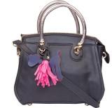 ILU Hand-held Bag (Black, Silver)