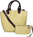 ILU Tote (Yellow, Brown)