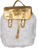 ILU Hand-held Bag (White, Gold)