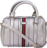 ILU Hand-held Bag (Silver, White, Red)