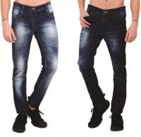 Mascari Jeans (Men's) - MASCARI Slim Men's Blue Jeans(Pack of 2)