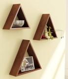 Khan Handicrafts Triangular wall shelf W...
