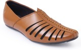 Shumael Men Tan Sandals