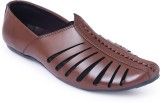 Shumael Men Brown Sandals