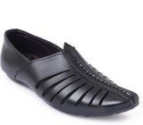 Shumael Men Black Sandals