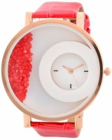Watches - Akag Round White Dial Analog Watch  - For Women
