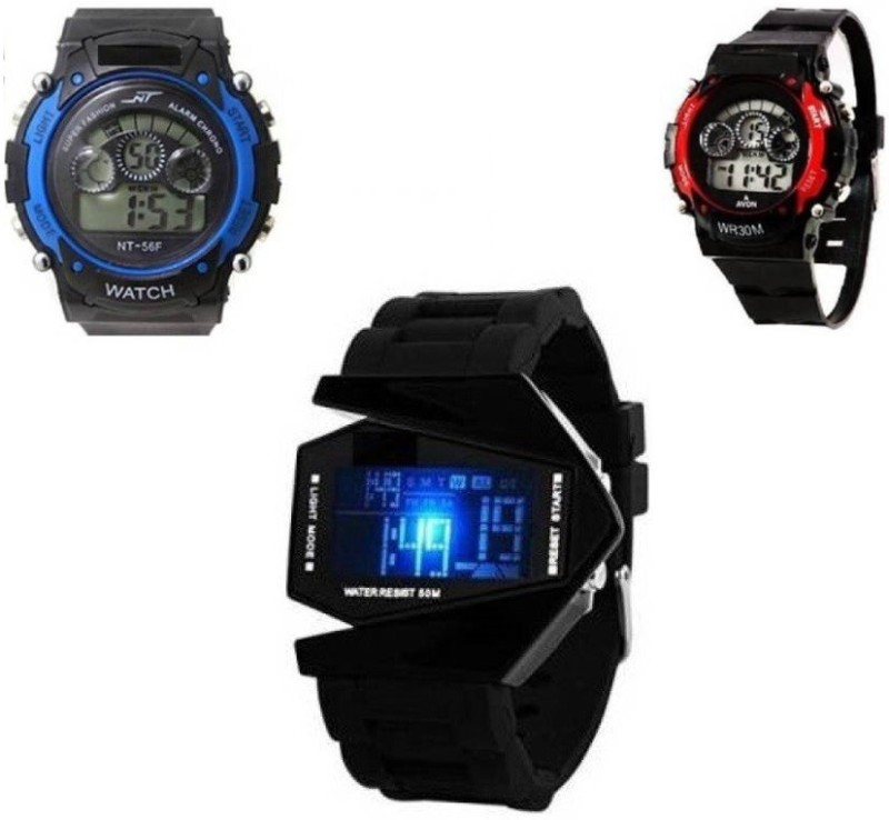 Users 3DLED_Sports 2 DSS KIDS- ALWAYS FUN Digital Watch -...