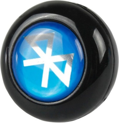 Futaba Mini Bluetooth Mono ear-hook- Black Wireless Bluetooth Headset With Mic(Black, Blue)