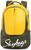 Skybags 17 inch Laptop Backpack (Yellow)