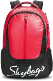 Skybags 17 inch Laptop Backpack (Red)