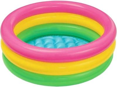 Kashish Trading Company KTC Baby Child Swimming pool Water Tub 2 Feet(Multicolor)