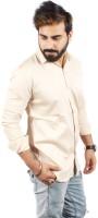 Black Warrior Formal Shirts (Men's) - Black Warrior Men's, Boys Solid Formal Beige Shirt