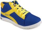 11e Hgs6 Casual Shoes (Blue, Yellow)