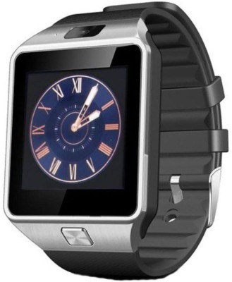 Doodads with SIM card, 32GB memory card slot, Bluetooth and Fitness Tracker 02-SR Smartwatch(Silver Strap) at flipkart